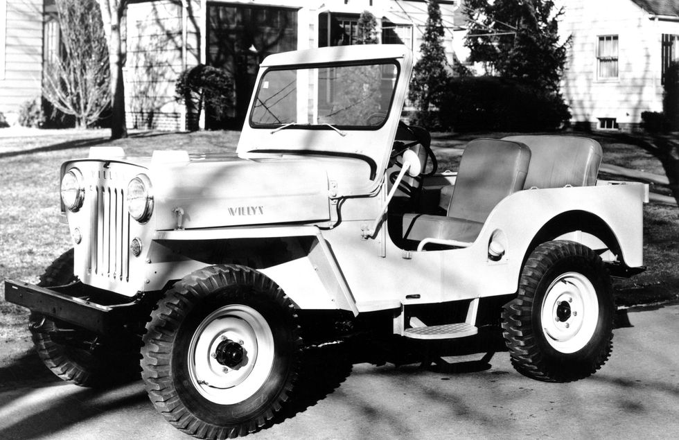 Jeep Original 1954 | vintage factory