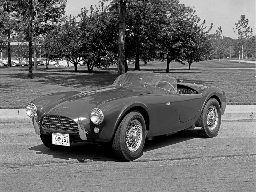 Shelby Cobra 1962 | vintage factory