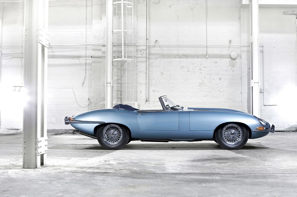 Jaguar e type 1 - 1968
