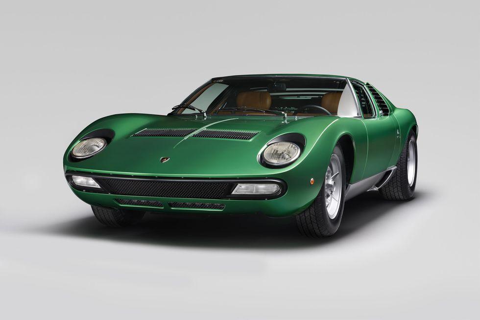 1971 Lamborghini Miura | vintage factory